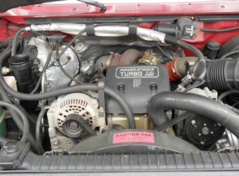 The 7.3 Power Stroke was the dominant engine of choice for pulling power and reliability. This engine would prove to be a work horse from 1994 to 2003, until it was replaced by its little brother, the 6.0 Power Stroke